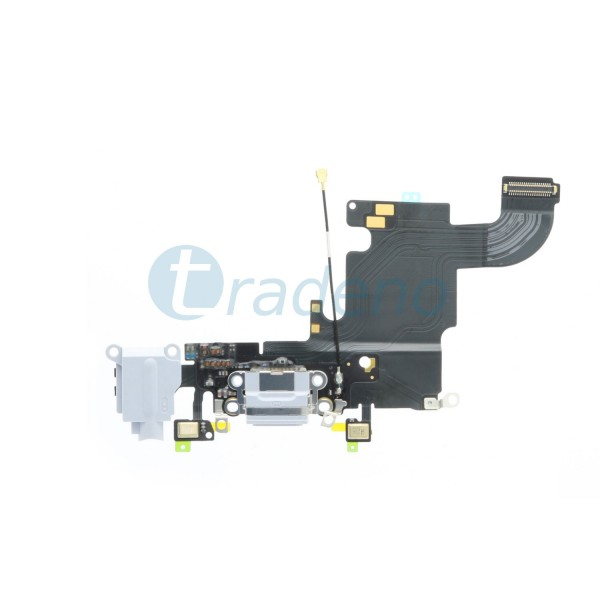 Dock Connector für iPhone 6S Weiss / Gold