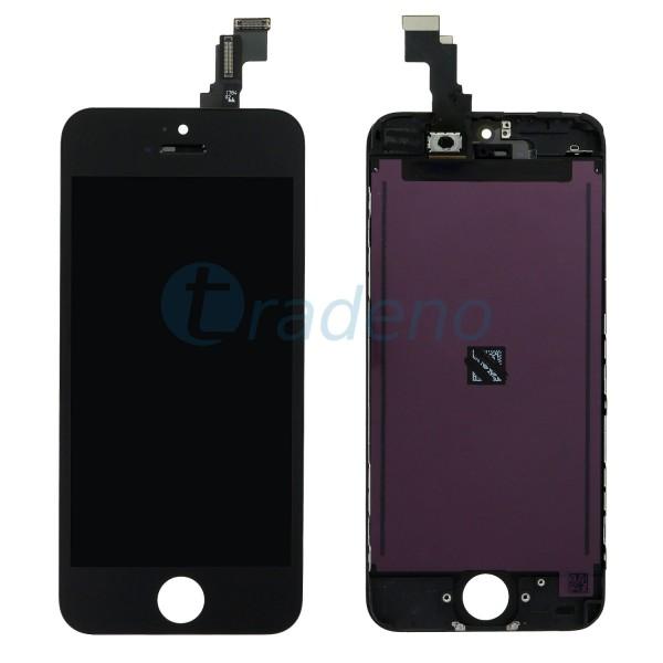 Display Einheit für Iphone 5C refurbished schwarz