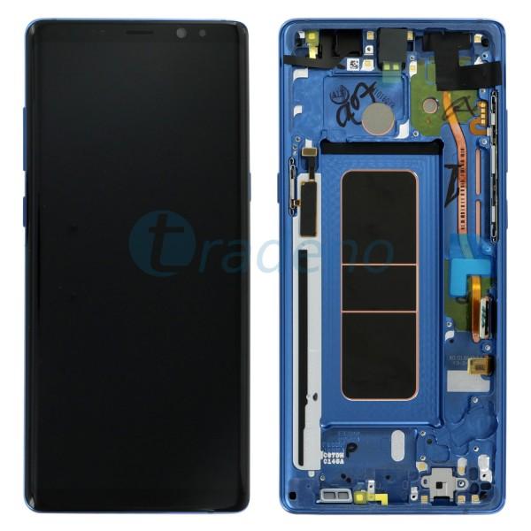 Samsung N950F Note 8 Display inkl. Rahmen Blau