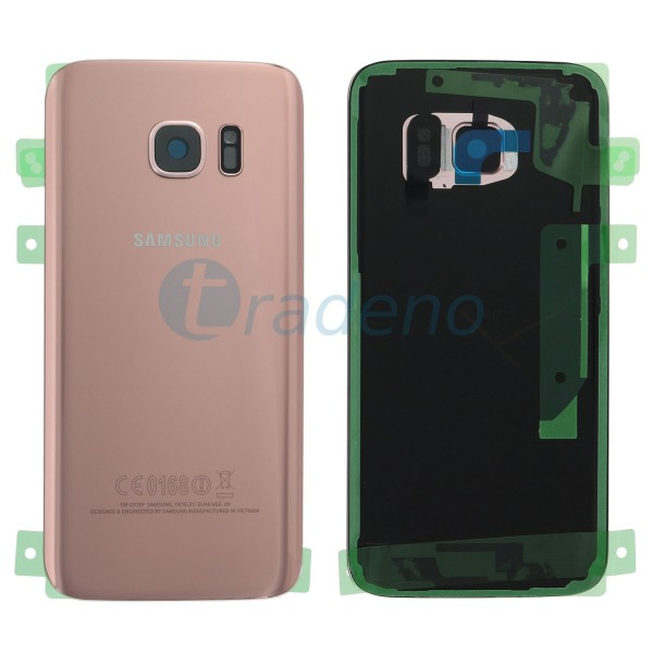 Samsung G930F Galaxy S7 Akkudeckel, Batterie Cover Rose Gold