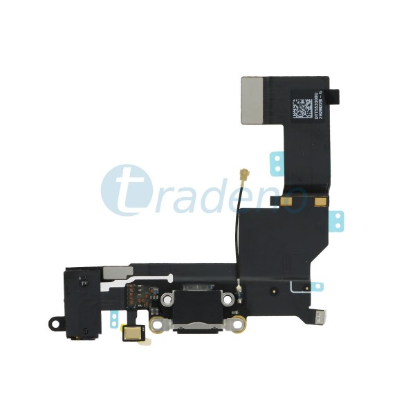 Dock Connector Flex Kabel für iPhone SE - Schwarz