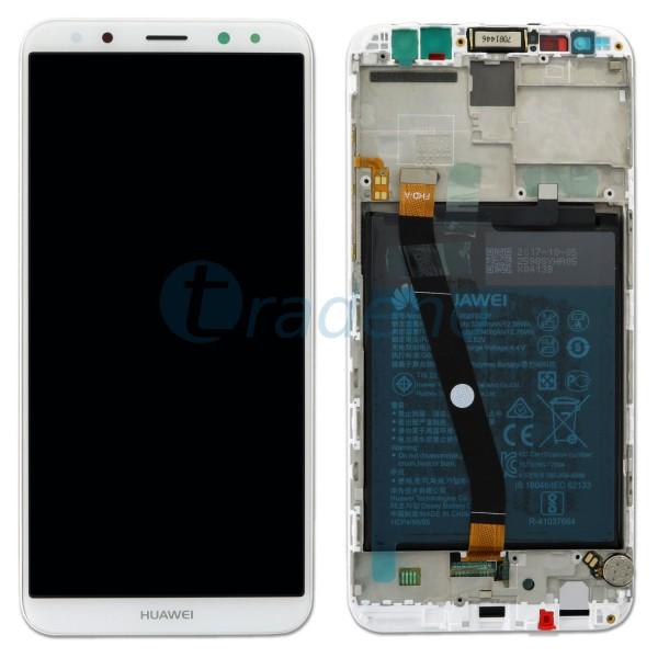 "Huawei Mate 10 Lite Display Einheit, LCD""Bestückt"" Serviceware Weiß"