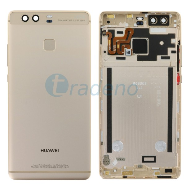Huawei P9 Akkudeckel, Batterie Cover Gold