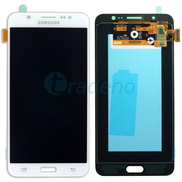 Samsung SM-J710FN Galaxy J7 2016 Display Einheit Weiss - Touchscreen + LCD