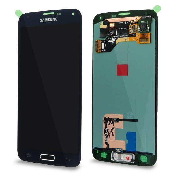 Samsung SM-G900F Galaxy S5 - Display Einheit Schwarz - Touchscreen + LCD