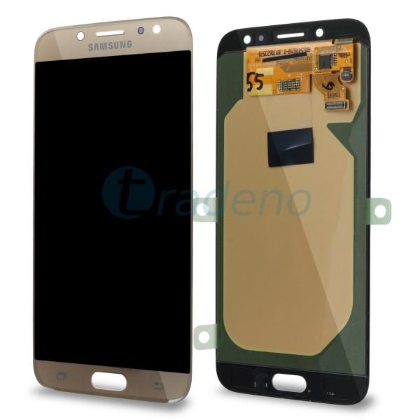 Samsung J730F Galaxy J7 (2017) Display Einheit, LCD Gold