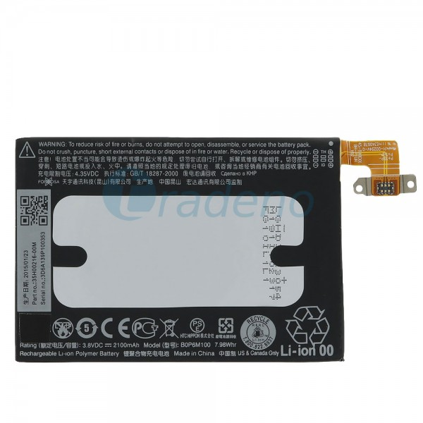 HTC One Mini 2 M5 - Akku Batterie B0P6M100 2100mAh