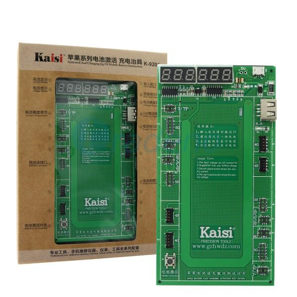 Kaisi Akku Aktivierung und Spannungsanzeige für iPhone und iPad Geräte