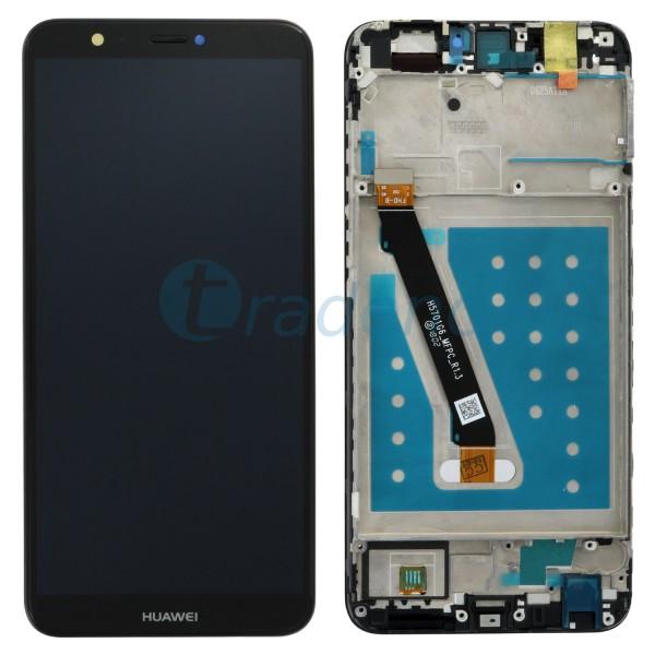 Huawei P Smart Display Einheit Schwarz + Rahmen