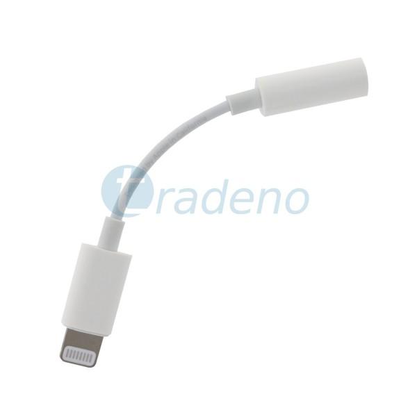 Apple MMX62 ZM/A Lightning Adapter 3,5 mm für Headset