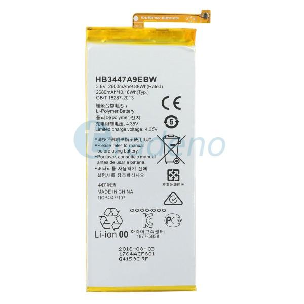 Huawei Ascend P8 - Akku 2600mAh HB3447A9EBW