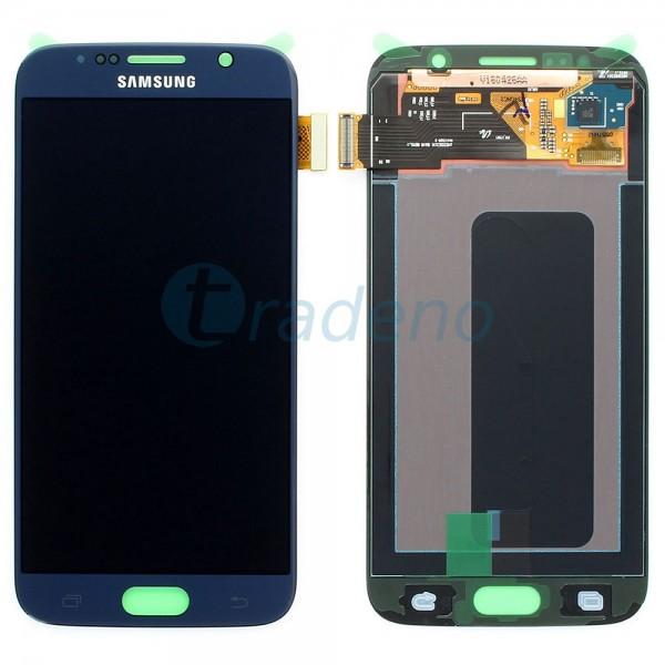 Samsung SM-G920F Galaxy S6 - Display Einheit Schwarz - Touchscreen + LCD