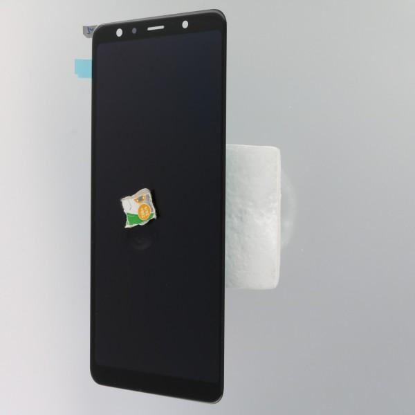 Samsung A750FN Galaxy A7 (2018) Display Einheit, schwarz