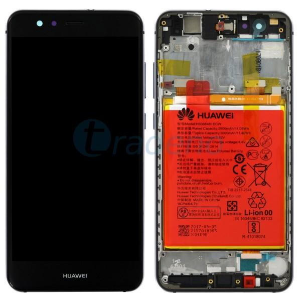 """Huawei Ascend P10 Lite Display Einheit, LCD """"Bestückt"""" Serviceware, Schwarz"""