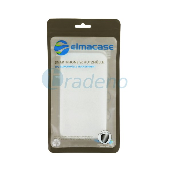 Elmacase iPhone XS MAX Slimcase Transparent