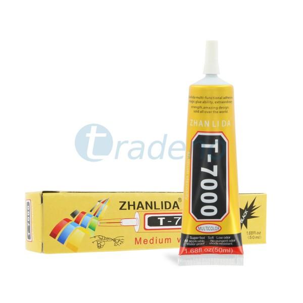 T-7000 50ml Klebstoff / Alleskleber für Smartphones, Schmuck, Handwerk - Schwarz