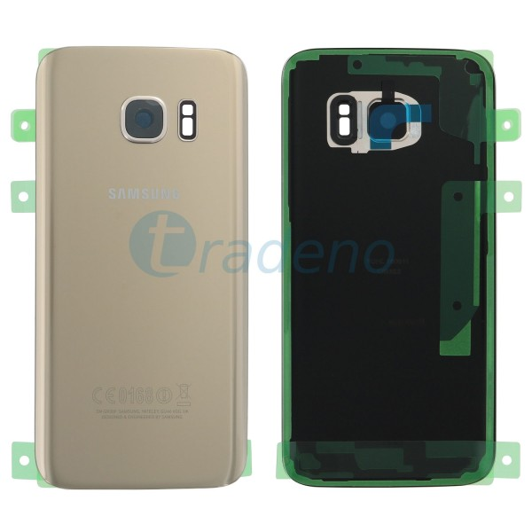 Samsung G930F Galaxy S7 Akkudeckel, Batterie Cover Gold