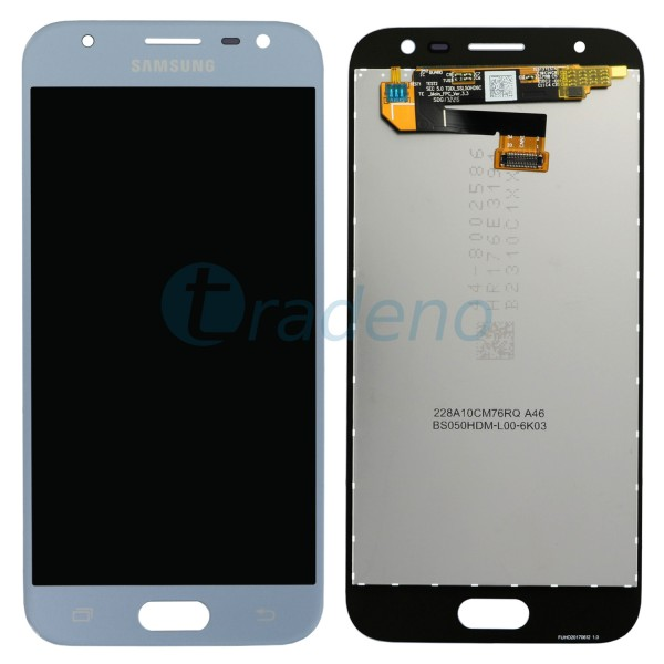 Samsung Galaxy J330F J3 (2017) Display Einheit, LCD Silber