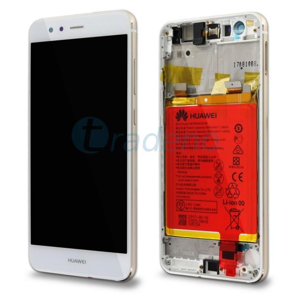"""Huawei Ascend P10 Lite Display Einheit, LCD """"Bestückt"""" Serviceware, Weiss"""