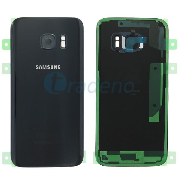 Samsung G930F Galaxy S7 Akkudeckel, Batterie Cover Schwarz