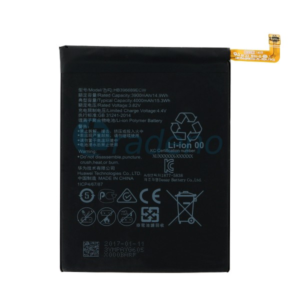Huawei Mate 9 Akku, Batterie 3900mAh HB396689ECW