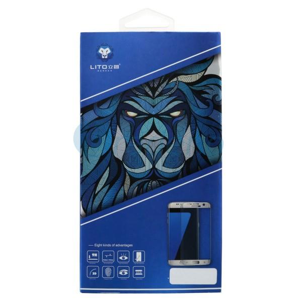 LITO 3D Full Cover Glasfolie, Schutzglas für Samsung Galaxy S8 Plus