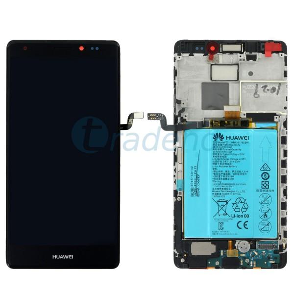 Huawei Mate S - Display Einheit - LCD + Touchscreen Schwarz / Grau