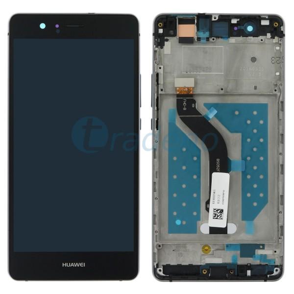 Huawei P9 Lite Display Einheit, LCD, Rahmen Schwarz