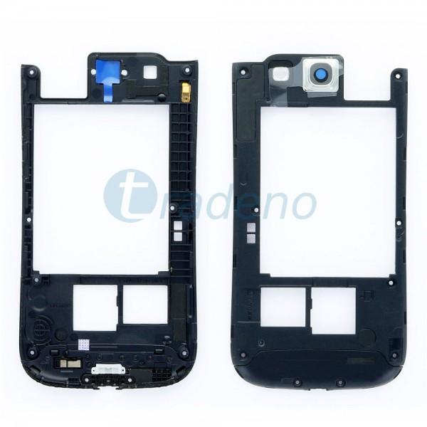 Samsung GT-I9300 Galaxy S3 - Mittelrahmen Schwarz & Blau
