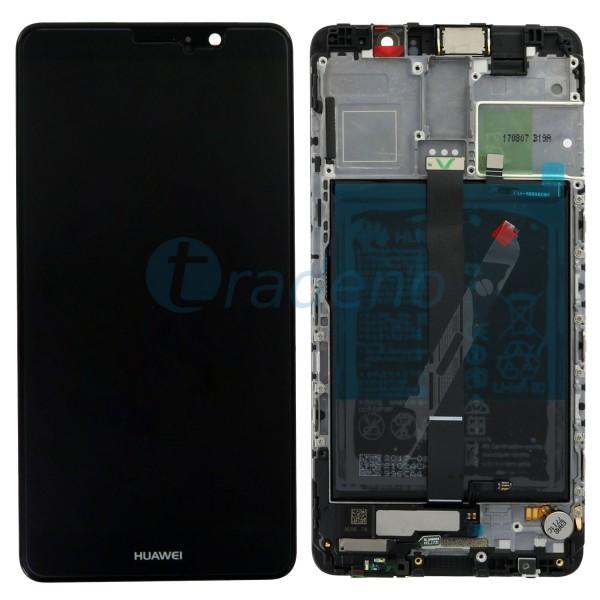 """Huawei Ascend Mate 9 Display Einheit, LCD """"Bestückt"""" Schwarz, Service Pack"""