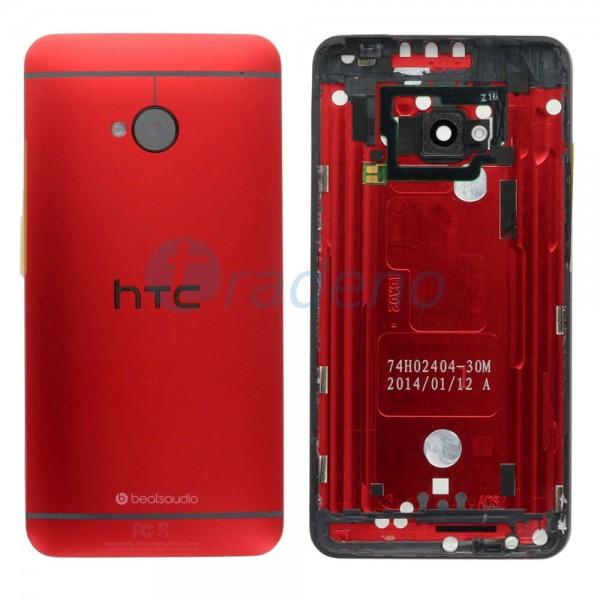 HTC One M7 - Akkudeckel Rot