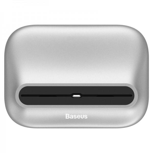 Baseus Little Volcano Ladestation für iPhone Produkte Silber