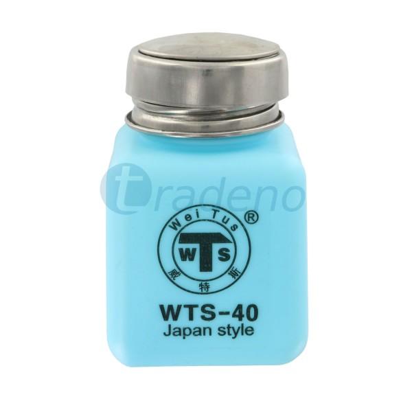 Behälter für Flüssigkeiten 120ml blau