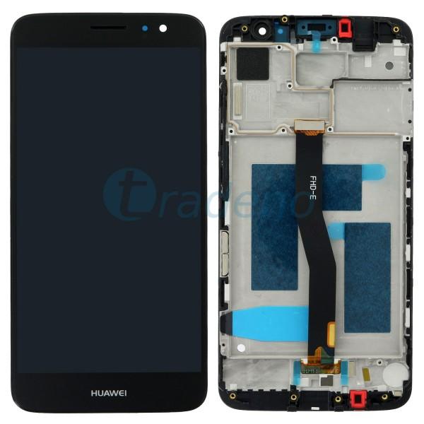 Huawei Nova Plus Display Einheit, LCD, Rahmen Schwarz