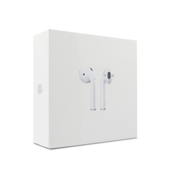 Apple AirPods Kopfhörer, Headset, In-Ear inkl. Jewel Case, Ladecase Weiss