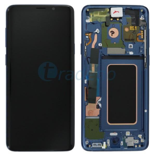 Samsung SM-G965F Galaxy S9 Plus Display Einheit, ink. Rahmen Blau