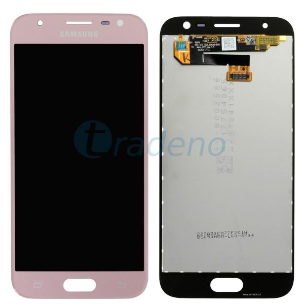 Samsung Galaxy J330F J3 (2017) Display Einheit, LCD Pink, Rosa