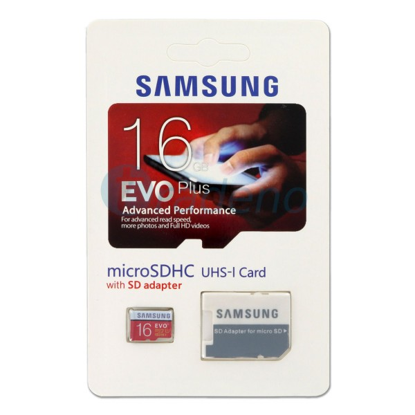 Samsung Micro SDHC Speicherkarte inkl. SD Adapter, Klasse 10, 16GB, (UHS1)