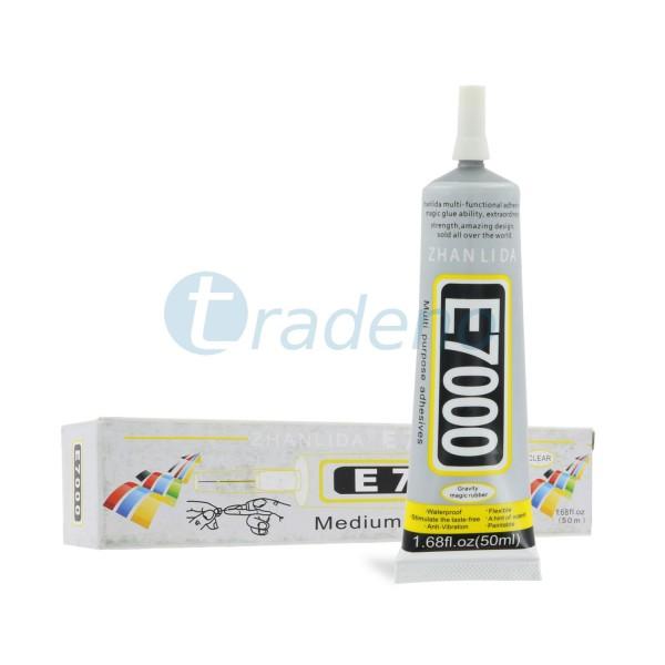 E7000 50ml Klebstoff / Alleskleber für Smartphones, Schmuck, Handwerk - Klar / T