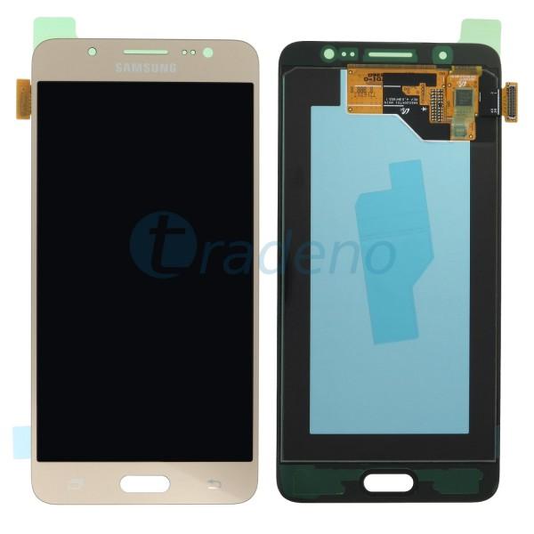 Samsung SM-J510FN Galaxy J5 2016 Display Einheit Gold - Touchscreen + LCD
