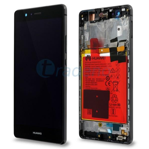 """Huawei Ascend P9 Lite Display Einheit, LCD """"Bestückt"""" Serviceware, Schwarz"""