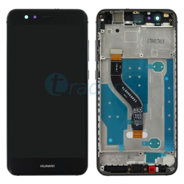 Huawei P10 Lite Display Einheit, LCD, Rahmen Schwarz