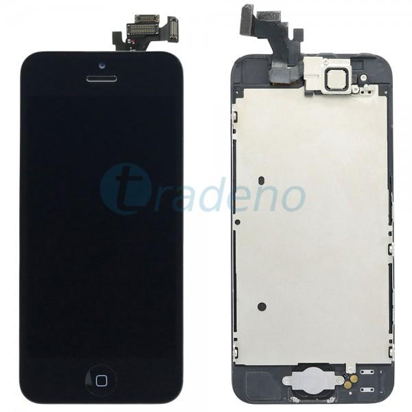 Original Display Einheit für iPhone 5 Bestückt Schwarz