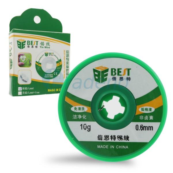 Best Bleidraht zum Löten von Kleinteilen - 10g 0.6 mm