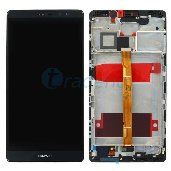 Huawei Ascend Mate 8 Display Einheit, LCD, Rahmen Schwarz