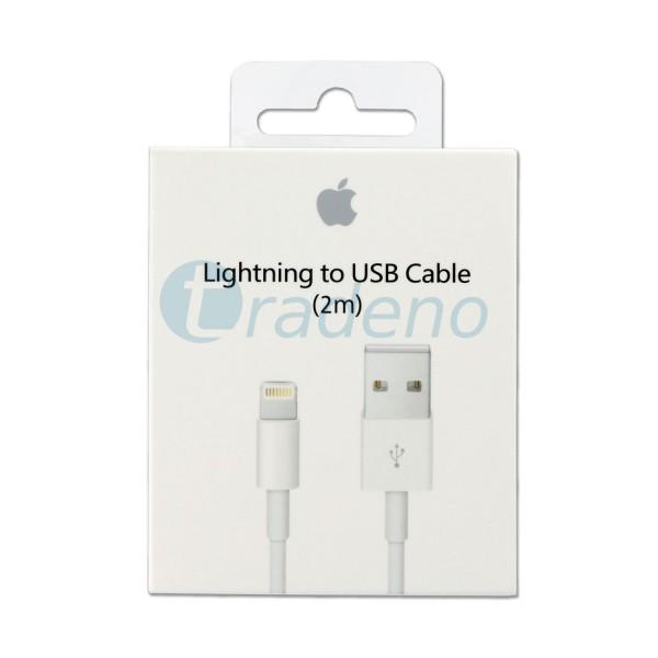 Apple Lightning USB Kabel MD819ZM/A 2m + Verpackung