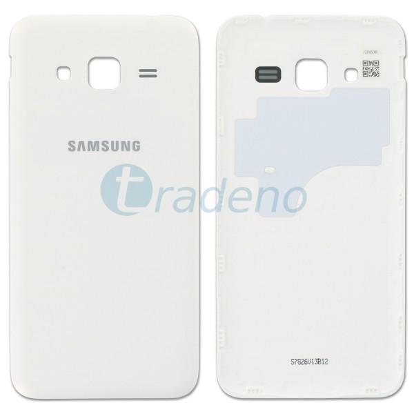 Samsung J320FN Galaxy J3 (2016) Akkudeckel, Batterie Cover Weiss