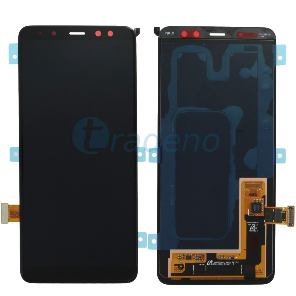 Samsung A530F Galaxy A8 (2018) Display Einheit, schwarz, Serviceware