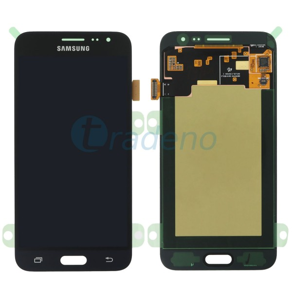 Samsung J320FN, J320 F Galaxy J3 (2016) Display Einheit Schwarz - LCD + Touchscr