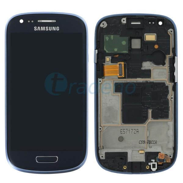 Samsung I8200 Galaxy S3 Mini VE Display Einheit + Touchscreen + LCD Inkl. Rahmen